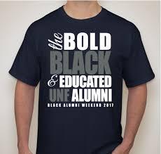 alumni tshirt official unf black alumni weekend 2017 t shirt custom ink fundraising