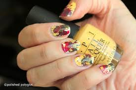 nail art red yellow u0026 green splatter nail design with opi
