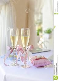 wedding glasses stock photos image 17530983