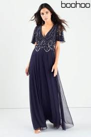 buy boohoo embellished maxi dress from the next uk online shop