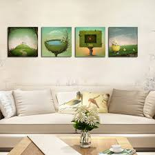 art painting for home decoration hx art no frame canvas four piece of fantastic modern living room