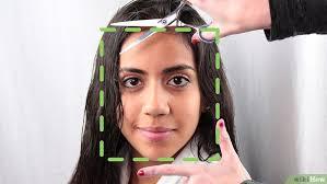 Frisuren Lange Haare Vorne Gestuft by Haare Schneiden Wikihow