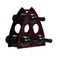 eiffel tower shaped 6 bottle wine rack 63832 the home depot