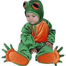 amazon com charades costume little frog 6 18 months toys u0026 games