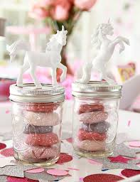 jar party favors party favor jars 7 unicorn themed crafts to make your