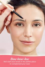 How To Tweeze Your Eyebrows Eyebrow Shapes How To Shape Your Eyebrows To Suit Your Face Shape
