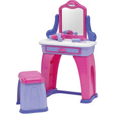 Childrens Vanity Desk American Plastics My Very Own Vanity Walmart Com