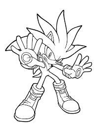 coloring printable sonic coloring pages