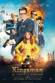 click to view extra large poster image for kingsman the golden