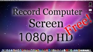how to record your computer screen hd 1080p free mac pc youtube