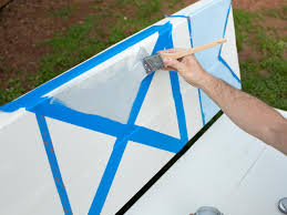 Wooden Nautical Flags How To Paint Nautical Flags On A Bench How Tos Diy