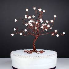 Butterfly Cake Decorations On Wire Wire Spray Wedding Cake Topper Custom From Nouveautique On Etsy
