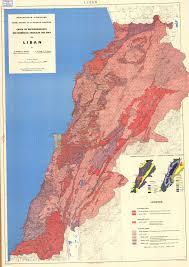 Map Of Lebanon National Soil Maps Eudasm Esdac European Commission