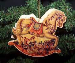 rocking ornament holder wood wooden