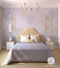 wall stencils for bedrooms bedroom stencil ideas endearing 7d896ffc6f54d4788bce4ef6e1861a87