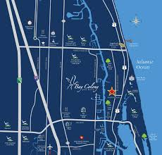 Locator Map Locator Map Bay Colony Juno Beach Waterfront Homes