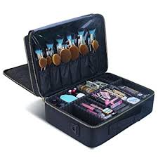 makeup artist box samtour makeup travelmall professional 3 layer multi