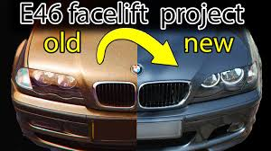 how to facelift a bmw e46 youtube