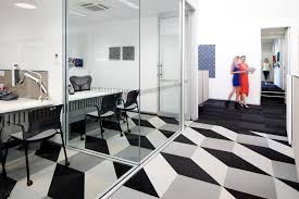 interface design spacecarpet tile design and art creating illusions