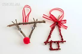 how to make vintage stick ornaments easy enough for