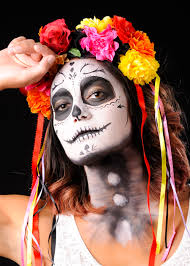 day of the dead headband day of the dead flower skull headband