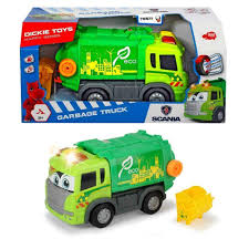 garbage trucks for kids surprise buy dickie toys scania lights and sounds garbage truck online at