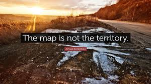 the map is not the territory the map is not the territory breaking steemit