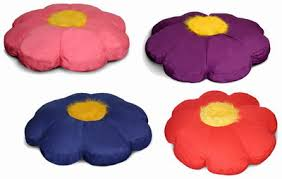 flower beanbag floor pillow