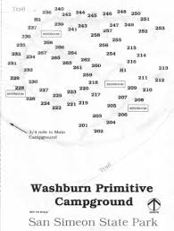 Ca State Parks Map by Washburn Primitive Campground A Great Central California