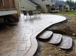 Concrete Backyard Patio by 23 Best New House Backyard Images On Pinterest Patio Ideas