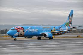 Alaska executive travel images Airline livery of the week alaska airline 39 s spirit of disneyland jpg