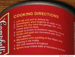 Funny Cooking Memes - funny cooking directions weknowmemes