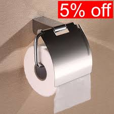new mirror polished 304 stainless steel bathroom toilet tissue