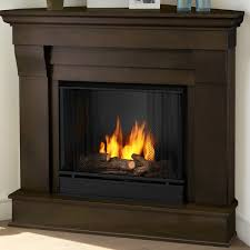 Real Flame Electric Fireplaces Gel Burn Fireplaces Real Flame Chateau Corner Gel Fuel Fireplace U0026 Reviews Wayfair