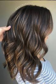 which works best highlights or lowlights to blend grey hair brunette balayage blend mane interest balayage highlights