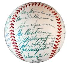 lot detail 1954 world series chs new york giants team signed