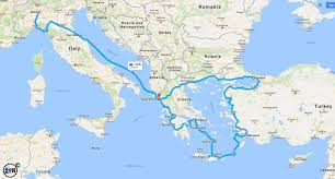 Map Of Greece And Turkey by The Alps Lukmanier Pass U2013 Switzerland To Italy Two Up Riders