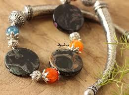 black agate necklace images Statement black agate gemstone artisan handmade necklace at 1750 jpg