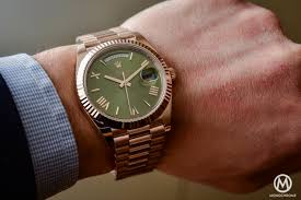 rolex day date 60th anniversary edition the president s