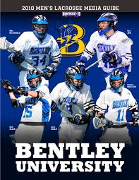bentley university athletics logo 2010 bentley university men u0027s lacrosse media guide by lipe
