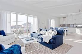 Blue And White Living Room Decorating Ideas 22 Ideas For Modern Interior Decorating With White And Blue Color
