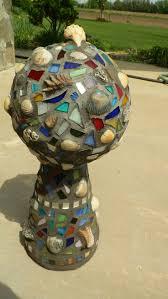 Gazing Ball And Stand 62 Best Gazing Globes Images On Pinterest Garden Balls Bowling