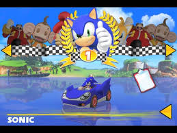 sonic sega all racing apk sega showcases sonic and sega all racing on iphone mobile