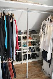 billy bookcases from ikea used as shoe shelves my dressingroom