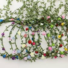 Indian Wedding Flowers Garlands Aliexpress Com Buy 11 Colors Lady Flower Crown Wedding