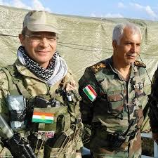 kurdish peshmerga u0027s u0027foreign legion u0027 who fight isis with them