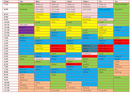 after school study how to make a school study schedule
