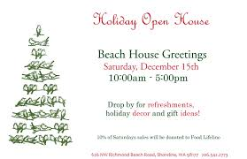 Christmas Open House Ideas by Drop By For Our Holiday Open House Beach House Greetings