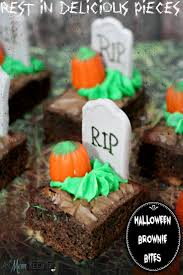 rest in delicious pieces graveyard brownie bites recipe as mom