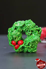 corn flake holly wreaths buzzfeed holiday cookie swap cookies